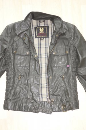 Org. BELSTAFF Gangster Wachs-Jacke in khaki/schlamm Gr.40