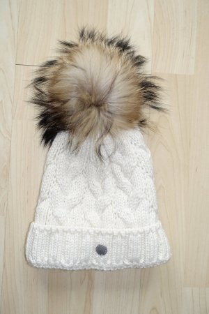 Bogner Fire + Ice Knitted Hat natural white
