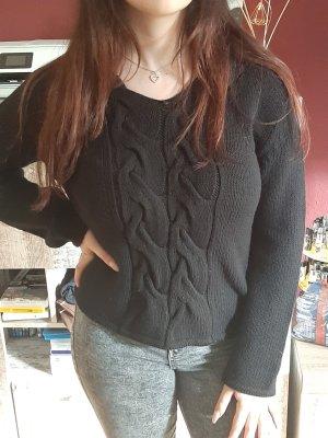 Bottega Veneta V-Neck Sweater black