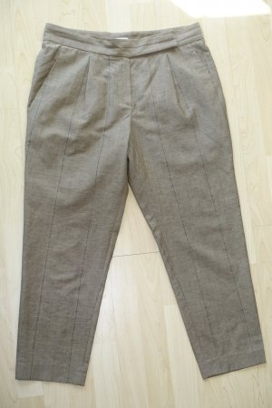 Brunello Cucinelli 7/8 Length Trousers grey brown wool