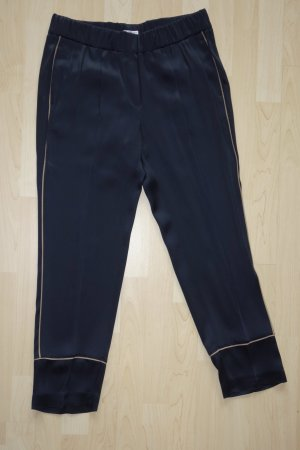 Brunello Cucinelli Low-Rise Trousers dark blue