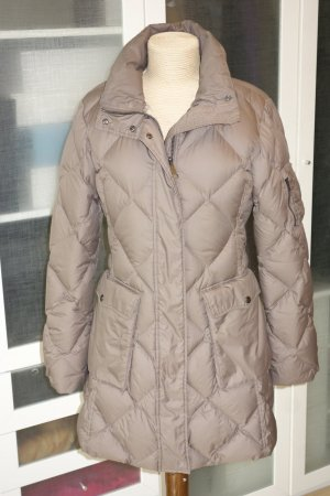 Burberry London Down Coat grey brown