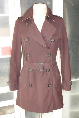 Org. BURBERRY Trenchcoat in dunkelbraun Gr.36