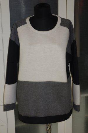 Org. BY MALENE BIRGER oversized Neopren Pullover/Sweatshirt Gr.L