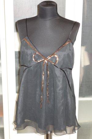 by Malene Birger Top black silk