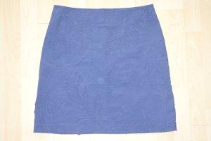 Cacharel Jupe bleu foncé coton