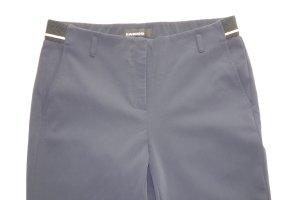 Org. CAMBIO slim Stretch-Hose aus Nylon in dunkelblau Gr.38