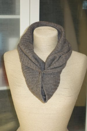 Chloé Tube Scarf brown cashmere