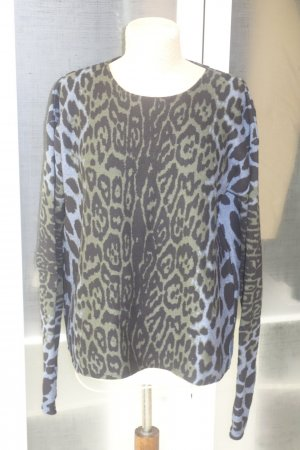 Org. CIRCUS HOTEL oversized Pullover mit Leomuster Gr.38/40