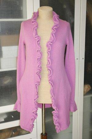 Dear Cashmere Cardigan pink cashmere