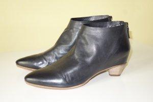 Org. DEL CARLO Ankle Boots aus Leder Gr.39 top