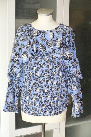 Diane von Furstenberg Blouse en soie multicolore soie