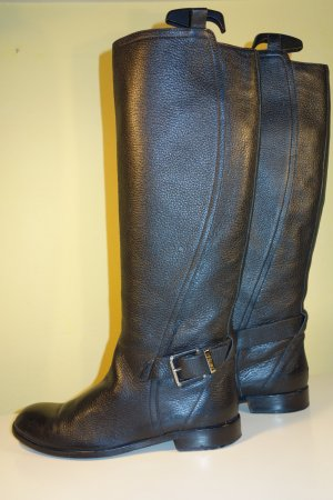 Dior Riding Boots black leather