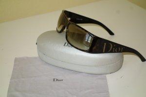Dior Gafas de sol cuadradas marrón oscuro
