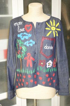 Dondup Denim Blouse multicolored cotton