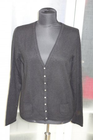 Donna Lane Cardigan black cashmere