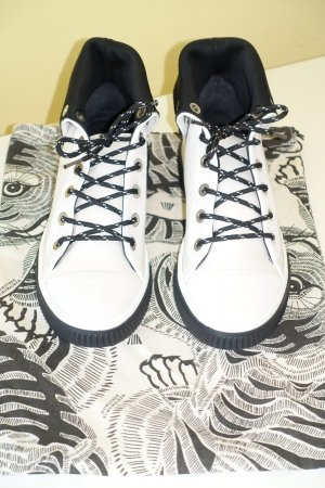 Org. DOROTHEE SCHUMACHER Hightop Sneaker aus Echtleder Gr.39 NEU inkl. Dustbag