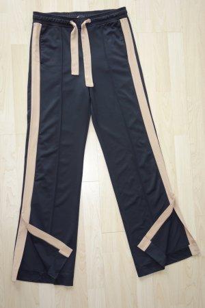 Org. DOROTHEE SCHUMACHER sporty Couture Pants in schwarz mit beigen Details Gr.36