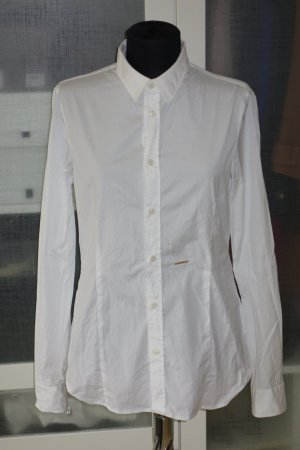 Org. DSQUARED Bluse in weiß Gr.42