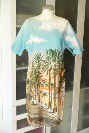 "Org. ERIKA CAVALLIN Semicouture Sommerkleid ""Hotel Carlton dress"" mit tollem Print Gr.38"