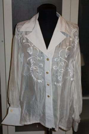 Org. ESCADA Couture Seidenbluse vintage Gr.40