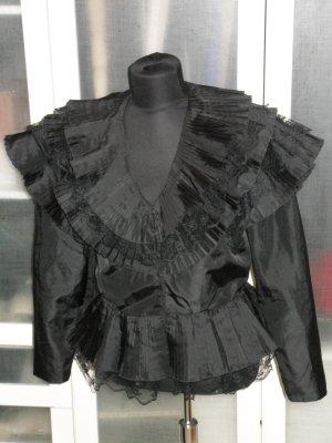 Org. ESCADA vintage Couture Bluse in schwarz Gr.40/42