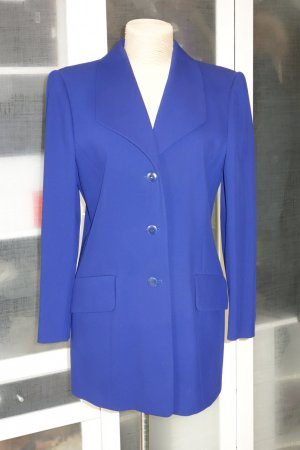 Org. ESCADA vintage long Blazer in blau Gr.40