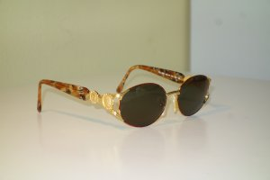 Fendi Retro Glasses brown-gold-colored