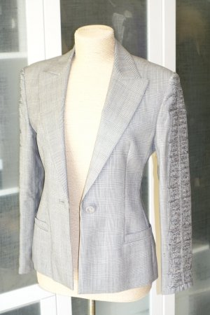 Org. GIANNI VERSACE vintage Blazer mit Karomuster und Details Gr.36