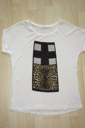 Givenchy Camiseta estampada blanco puro Algodón