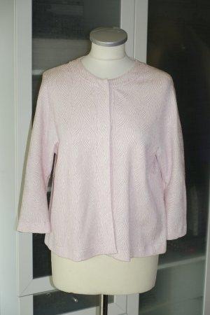 Org. HARRIS WHARF Kurz-Jacke/Blazer mit Muster rosa/nude Gr.34 Neu+Etikett