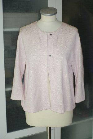 Org. HARRIS WHARF Kurz-Jacke/Blazer mit Muster rosa/nude Gr.36 Neu+Etikett