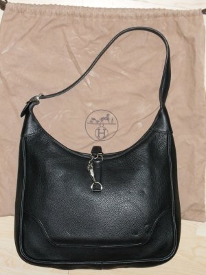 Org. HERMES Trim bag schwarz inkl. Dustbag