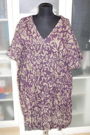 Caftan brown violet-grey brown cotton