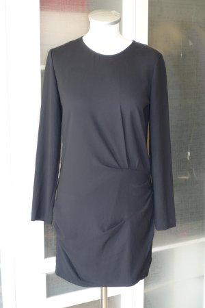 Org. IRO Kleid mit drapierten Details in schwarz Gr.36