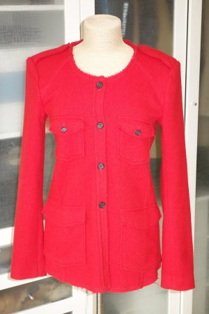 Org. ISABEL MARANT Etoile Jacke/Blazer aus Wolle in rot Gr.40