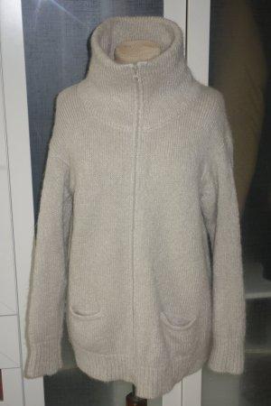 Org. ISABEL MARANT oversized Grobstrick-Jacke in creme Gr.0/34