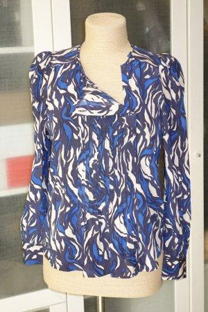 Org. ISABEL MARANT Schlupf-Bluse aus Seide mit Print Gr.36