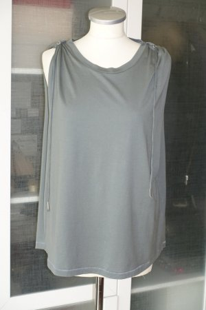 Org. ISABEL MARANT Shirt/Top mit Details in khaki/graugrün Gr.40