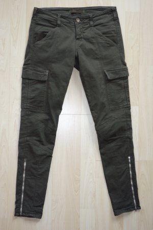 Org. J BRAND skinny Cargo Pant in army green Gr.27