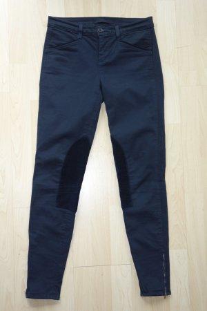 J brand Pantalone da equitazione blu scuro