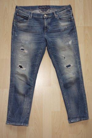 Org. JACOB COHEN skinny Jeans Karen mit distressed Details Gr.30
