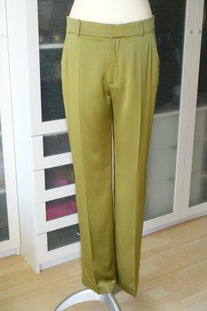 Joseph Marlene Trousers olive green silk