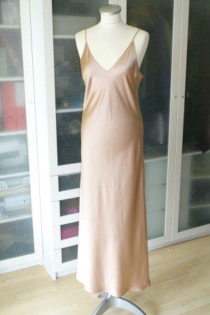 Org. JOSEPH slip dress aus Seide in nude Gr.36 Neu+Etikett