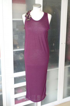 Lanvin Abito midi rosso mora-viola Viscosa