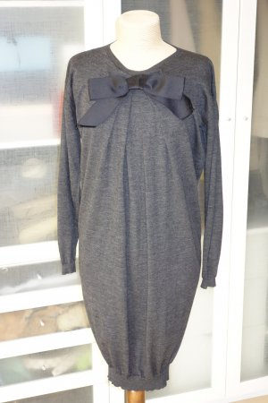 Lanvin Knitted Dress anthracite new wool