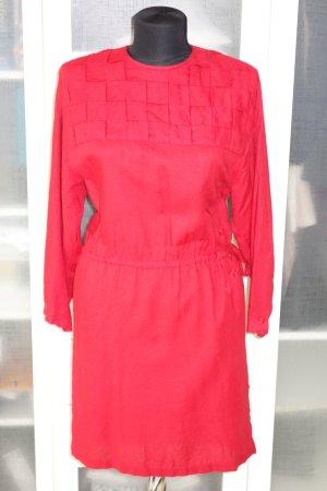 Org. LAURA BIAGIOTTI vintage Kleid in rot Gr.38