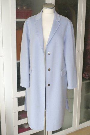 Laurèl Cappotto in lana azzurro-celeste Lana