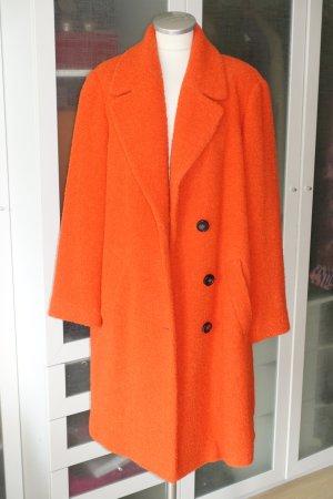 Org. LAUREL Teddymantel aus Wolle in orange Gr.42