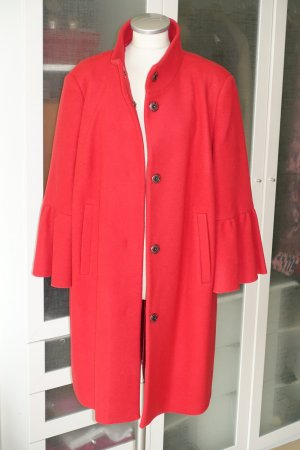 Laurèl Cappotto in lana rosso Lana